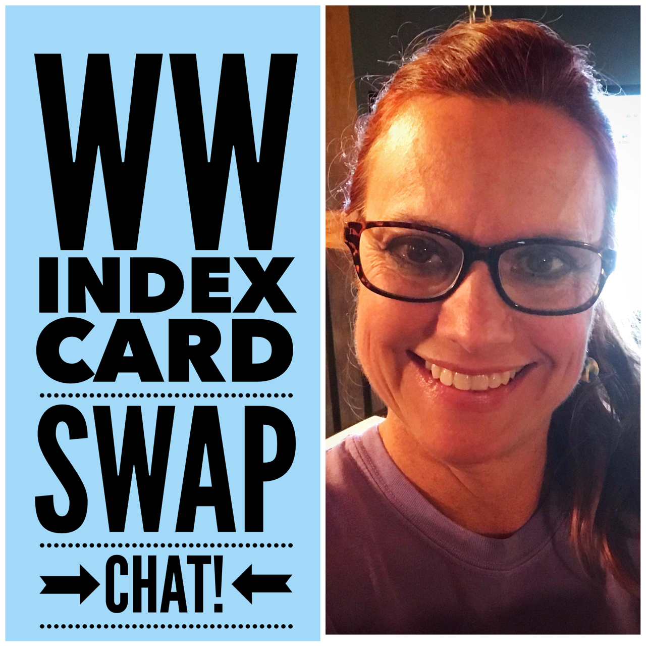 ww easy meal idea index card swap facebook live chat